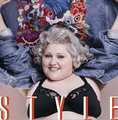 The Gossip BETH DITTO Photo Cover interview UK STYLE  MAGAZINE February 2016