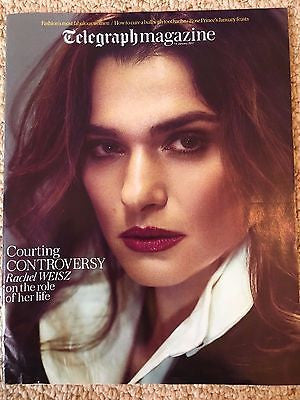 UK Telegraph Magazine January 14 2017 Rachel Weisz Cover