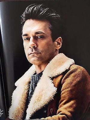 Mad Men JOHN HAMM PHOTO INTERVIEW UK TIMES MAGAZINE OCTOBER 2016