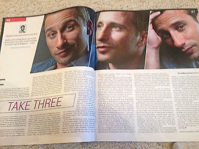 UK CULTURE MAGAZINE MATTHIAS SCHOENAERTS MARK GATISS - MARTIN SHAW - APRIL 2015