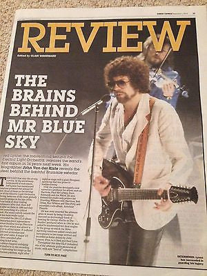 Electric Light Orchestra JEFF LYNNE PHOTO COVER NOVEMBER 2015