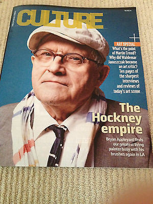 Culture Magazine February 2014 David Hockney Pete Seeger Asgeir Emily Mortimer