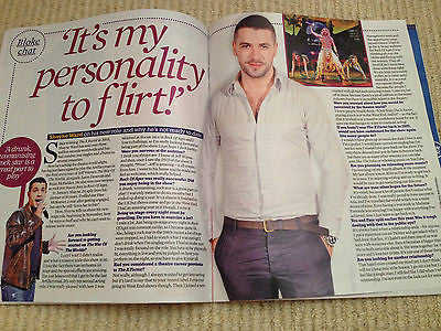 LINDA BARKER PHOTO INTERVIEW MAGAZINE 2014 - SHAYNE WARD JASMINE WALTZ HENSHALL