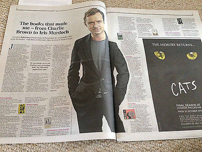 UK TELEGRAPH REVIEW - PAUL MCCARTNEY - JUDE LAW - STAVES - CHARLOTTE RAMPLING