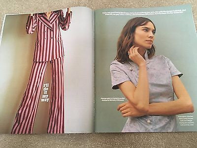 Guardian Weekend magazine June 3 2017 - Alexa Chung Roger Allam