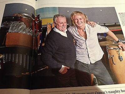 Sunday Times Magazine - December 29 2013 Roger Taylor QUEEN Mo Farah
