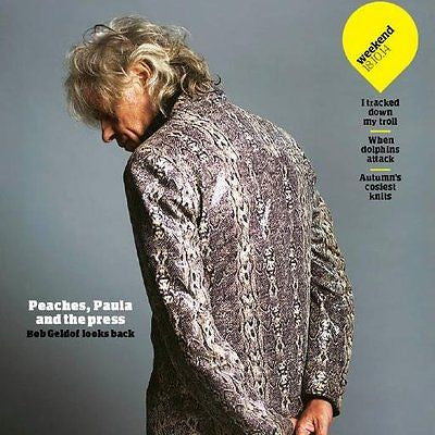 Peaches BOB GELDOF PHOTO COVER INTERVIEW OCTOBER 2014 PAULA YATES ELIJAH WOOD