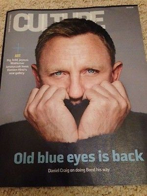 (UK) CULTURE MAGAZINE OCT 2015 DANIEL CRAIG SPECTRE ANNE MARIE DUFF JAMES BOND