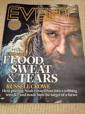 Noah RUSSELL CROWE PHOTO COVER interview EMMA WATSON PRINCESS DIANA UK MAGAZINE
