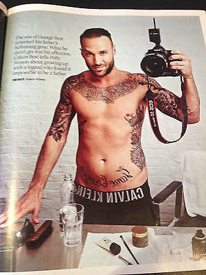 CALUM BEST interview GEORGE UK 1 DAY ISSUE 2015 CHIARA FERRAGNI will.i.am