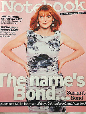 UK NOTEBOOK MAGAZINE - SAMANTHA BOND - JAMES BOND - KIT HARINGTON - MAY 3 2015