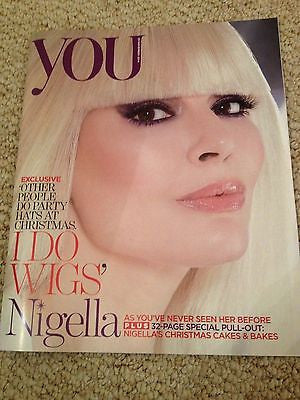 NIGELLA LAWSON PHOTO interview YOU Magazine Christmas 2014 32 pages LEANN RIMES
