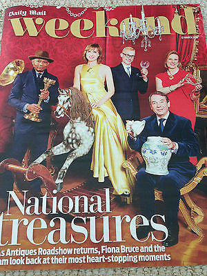 WEEKEND Magazine 03/2016 FIONA BRUCE Michael Crawford JEREMY IRONS Danny Miller