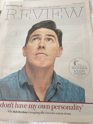 TELEGRAPH REVIEW AUGUST 2015 ROB BRYDON NATALIE PRASS OSCAR ISAAC HENRY CAVILL