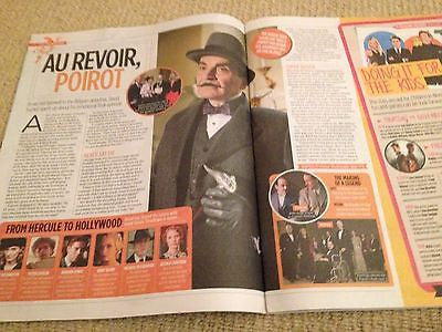 DAVID SUCHET interview PETER ANDRE UK ISSUE 2013 BRAND NEW CHELSEA HALFPENNY ***