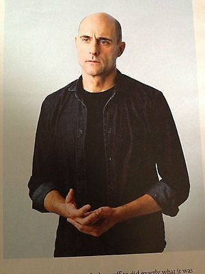 Arthur Miller MARK STRONG Interview TELEGRAPH 2014 ARYTON SENNA JOSEPH ALTUZARRA