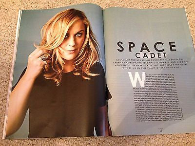 AMY POEHLER PHOTO INTERVIEW UK STYLE MAGAZINE JULY 2015