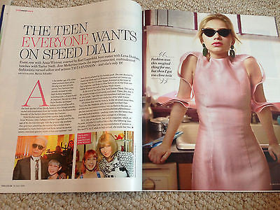YOU MAGAZINE JULY 2015 TAVI GEVINSON PHOTO INTERVIEW DAPHNE SELFE NATHAN CARTER
