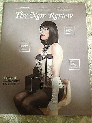 New Review Magazine March 2014 XXXORA MIA WASIKOWSKA JULIA BRADBURY AMANDA OWEN
