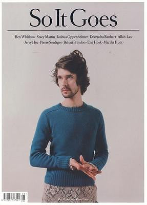 BEN WHISHAW PHOTO COVER INTERVIEW SO IT GOES MAGAZINE ISSUE 6 BRAND NEW