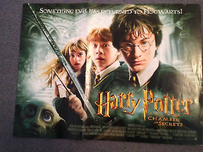 Daniel Radcliffe Harry Potter And the Chamber of Secrets Original Cinema Poster