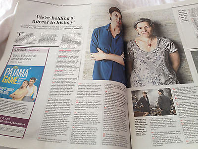 Telegraph Review - August 2014 - Sinead O'Connor Jacqueline Bisset Sofie Grabol
