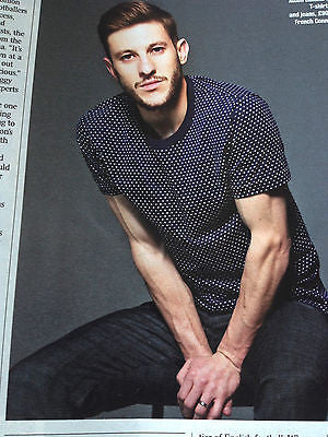 ADAM LALLANA PHOTO INTERVIEW THE TIMES WORLD CUP MAY 2014 FRANK LAMPARD JOE HART