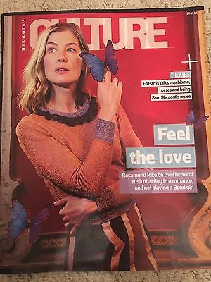 (UK) CULTURE MAGAZINE NOVEMBER 2016 ROSAMUND PIKE - BRUNO MARS - ED HARRIS