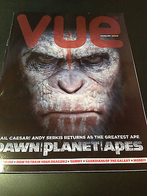 Vue Magazine June 2014 ANDY SERKIS Vicent Piazza John Lloyd Young Douglas Booth