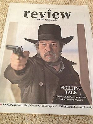 Tommy Lee Jones UK Photo Interview November 2014 Charles Aznavour Jamie Dornan