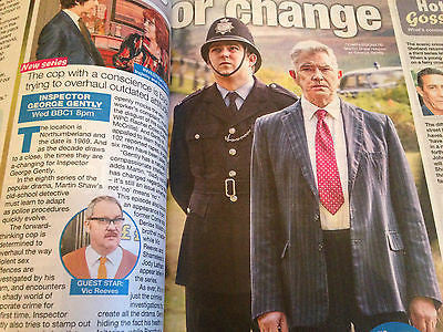 UK WE LOVE TV MAGAZINE TOM HUGHES - THE GAME - MARTIN SHAW - APRIL 25 2015