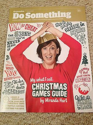 MIRANDA HART PHOTO COVER INTERVIEW GUARDIAN MAGAZINE DECEMBER 2014