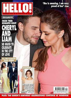 HELLO! magazine - 24 May 2016 Cheryl Cole & Liam Payne Exclusive
