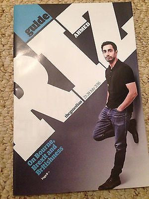 (UK) GUIDE MAGAZINE JULY 2016 RIZ AHMED Photo Cover Interview - SHURA