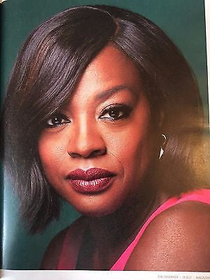 UK Observer Magazine January 2017 Viola Davis Sir Laurence Olivier David Bradley