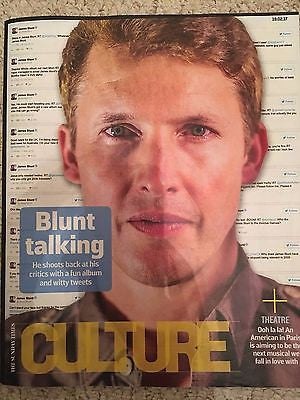 UK Culture Magazine February 2017 James Blunt Stefanie Martini Sam Riley