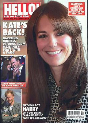 (UK) HELLO Magazine 1398 KATE MIDDLETON PHOTO COVER LINDA GRAY