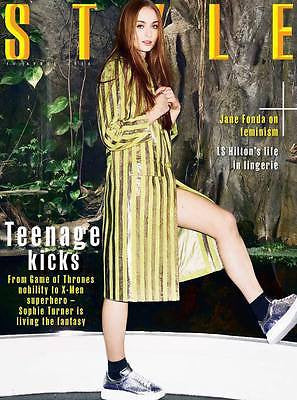 Game of Thrones SOPHIE TURNER PHOTO INTERVIEW STYLE MAGAZINE APRIL 2016
