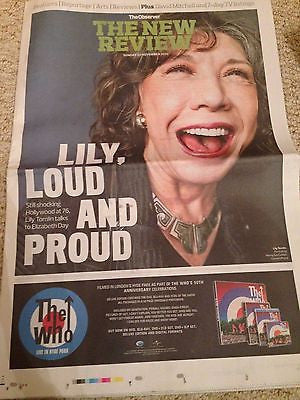 Grandma LILY TOMLIN UK PHOTO INTERVIEW NOVEMBER 2015 CHVRCHES KARL GLUSMAN LOVE