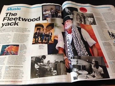 MICK FLEETWOOD FLEETWOOD MAC PHOTO INTERVIEW TIME OUT MAGAZINE MAY 2015