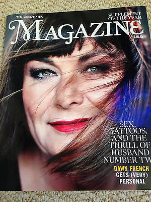 (UK) TIMES MAGAZINE OCTOBER 2015 DAWN FRENCH Garry Kasparov DALAI LAMA