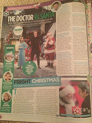 TV MAGAZINE CHRISTMAS 2014 LACEY TURNER MARC WARREN PETER CAPALDI MICHAEL BALL