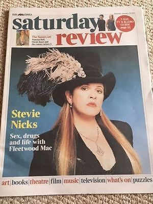 UK Times Review January 2017 Stevie Nicks - Fleetwood Mac Interview