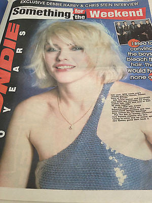 Blondie Debbie Harry Cover Clippings 4(0)-EVER UK Promo interview Little Dragon