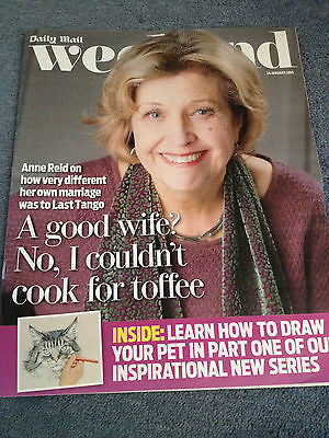 WEEKEND JANUARY 2015 ANNE REID ROBERT HARDY MICHAELA STRACHAN NEIL DUDGEON