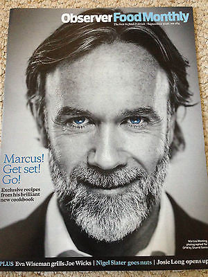 MARCUS WAREING PHOTO COVER OBSERVER FOOD MAGAZINE SEPT 2016 JOE WICKS