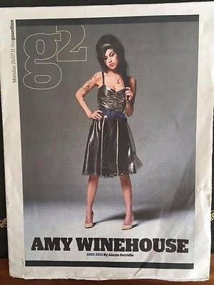 UK G2 Supplement 25th July 2011 Amy Winehouse 1983-2011 Special Edition