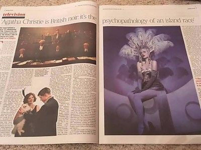UK Times Review 24 December 2016 Andrea Riseborough Billy Howle Finn Atkins