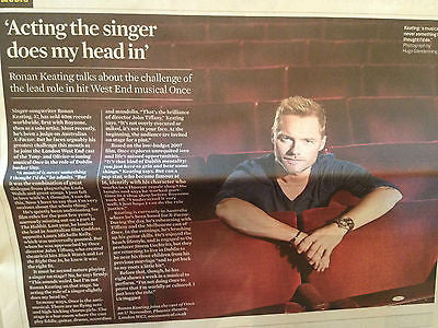 DAVID MITCHELL PHOTO INTERVIEW NOV 2014 RONAN KEATING BLONDIE DEBBIE HARRY