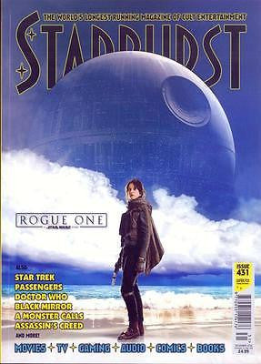 STARBURST MAGAZINE DEC 2016 STAR WARS - ROGUE ONE - FELICITY JONES PHOTO COVER